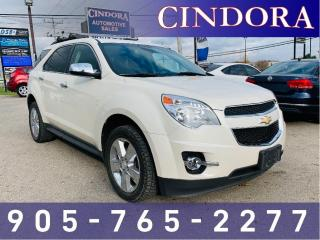 Used 2015 Chevrolet Equinox LT, Leather, Roof Rack for sale in Caledonia, ON