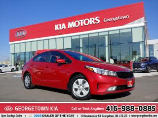 Used 2017 Kia Forte LX+ | 1 OWNER | CLEAN CARFAX | B/U CAM | HTD SEATS for sale in Georgetown, ON
