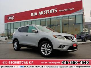 Used 2016 Nissan Rogue SV | AWD | CLEAN CARFAX | NAV | PANO ROOF |54,854K for sale in Georgetown, ON