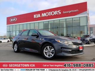 Used 2016 Kia Optima LX | 1 OWNER | CLEAN CARFAX | B/TOOTH | 137,499 KM for sale in Georgetown, ON