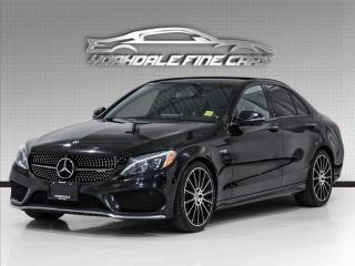 Used 2018 Mercedes-Benz C-Class AMG C 43 Navigation, 360 Cam, Burmester Sound, Clean for sale in Concord, ON