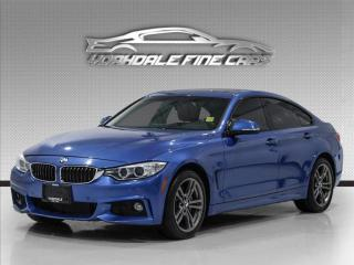 Used 2017 BMW 4 Series 430i xDrive Gran Coupe M Sport, Red Interior, Navigation for sale in Concord, ON
