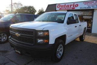 Used 2014 Chevrolet Silverado 1500 4WD Double Cab Cruise control Power options for sale in Mississauga, ON