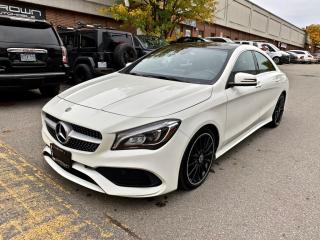 Used 2018 Mercedes-Benz CLA-Class CLA 250 4MATIC Coupe, NAV, MOONROOF, ONE OWNER, NO ACCIDENT for sale in North York, ON