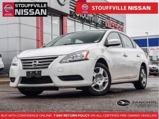 Used 2015 Nissan Sentra S  Bluetooth    Clean Carfax  ECO Mode  AC for sale in Stouffville, ON