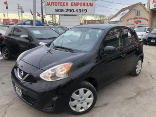 Used 2016 Nissan Micra Automatic Camera/Cruise/Bluetooth/Kelyess&ABS* for sale in Mississauga, ON