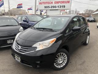 Used 2016 Nissan Versa Note SV 5Sp Navigation/Alloys/Bluetooth for sale in Mississauga, ON