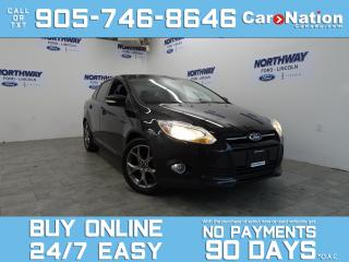 Used 2014 Ford Focus SE | SUNROOF | TOUCHSCREEN | ALLOYS for sale in Brantford, ON
