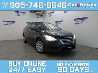 Used 2013 Nissan Sentra BLUETOOTH | OPEN SUNDAYS | AUTO | LOW KMS! for sale in Brantford, ON