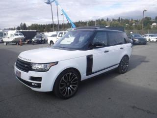 Used 2016 Land Rover Range Rover HSE DIESEL for sale in Burnaby, BC