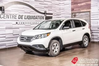 Used 2013 Honda CR-V AWD+CAM/ RECUL+BLUETOOTH for sale in Laval, QC