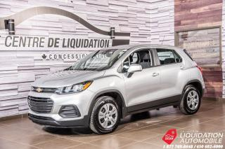 Used 2017 Chevrolet Trax LS+AIR+CAM/RECUL+GR/ELECT for sale in Laval, QC
