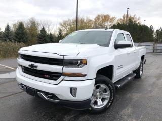 Used 2018 Chevrolet Silverado 1500 LT EXT CAB 4WD for sale in Cayuga, ON