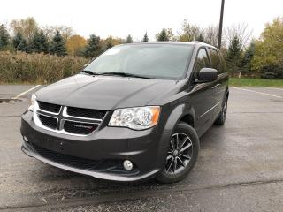 Used 2016 Dodge Grand Caravan SXT Premium Plus 2WD for sale in Cayuga, ON