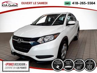 Used 2017 Honda HR-V LX* CAMERA* SIEGES CHAUFFANTS* for sale in Québec, QC