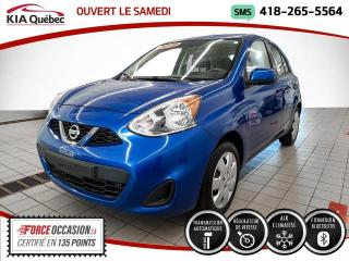 Used 2015 Nissan Micra SV* AUTOMATIQUE* A/C* BLUETOOTH* for sale in Québec, QC