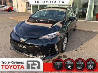 Used 2017 Toyota Corolla Berline 4 portes, boîte manuelle SE for sale in Trois-Rivières, QC