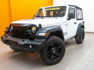 Used 2018 Jeep Wrangler SPORT 4X4 BLUETOOTH ÉCRAN TACTILE *CAMÉRA RECUL* for sale in Mirabel, QC