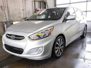 Used 2016 Hyundai Accent AUTOMATIQUE SIÈGES CHAUFF TOIT OUVRANT *BAS KM* for sale in Mirabel, QC