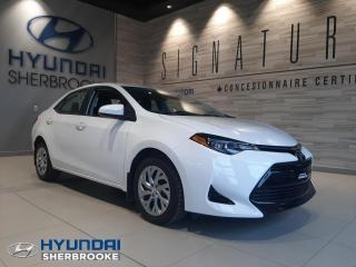 Used 2017 Toyota Corolla LE CAMERA BANCS CHAUFF BLUETOOTH CRUISE for sale in Sherbrooke, QC