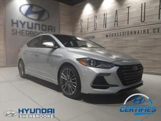 Used 2017 Hyundai Elantra 1.6 TURBO! SPORT TECH GPS CAMERA CUIR TO for sale in Sherbrooke, QC