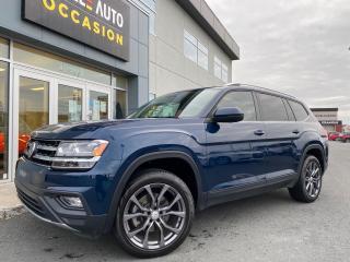 Used 2018 Volkswagen Atlas Comfortline 3.6 FSI 4MOTION for sale in St-Georges, QC