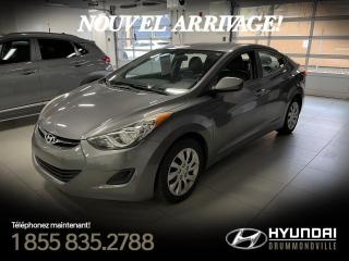 Used 2011 Hyundai Elantra GL + GARANTIE + A/C + 73 534 KM + CRUISE for sale in Drummondville, QC