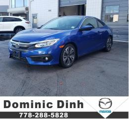 Used 2016 Honda Civic Coupe EX CVT for sale in Richmond, BC