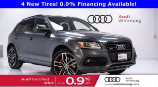 Used 2017 Audi SQ5 3.0T Dynamic Edition *Low Km-Local Trade* for sale in Winnipeg, MB