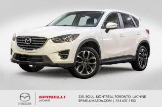 Used 2016 Mazda CX-5 GT AWD GPS CUIR SIEGES CHAUFFANTS Toit Ouvrant Mazda CX-5 GT 2016 for sale in Lachine, QC