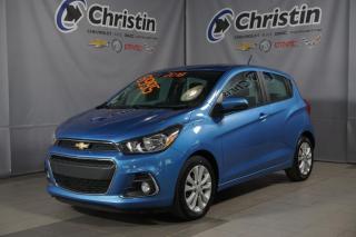Used 2016 Chevrolet Spark LT APPLE CARPLAY BLUETOOTH CAM DE RECUL for sale in Montréal, QC