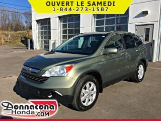 Used 2009 Honda CR-V EX-L AWD *JAMAIS ACCIDENTE* for sale in Donnacona, QC