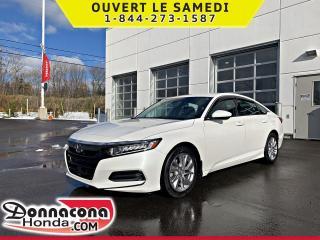Used 2019 Honda Accord LX *GARANTIE GLOBALE 2023 OU 80 000 KM* for sale in Donnacona, QC