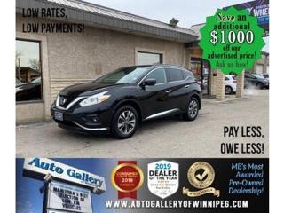 Used 2017 Nissan Murano SV* Awd/Nav/Pano/Htd seats for sale in Winnipeg, MB