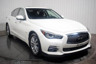 Used 2016 Infiniti Q50 AWD 2.0T CUIR TOIT MAGS NAV for sale in St-Hubert, QC