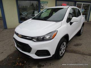 Used 2017 Chevrolet Trax 6-SPEED MANUAL LS EDITION 5 PASSENGER 1.4L - ECO-TEC.. TOUCH SCREEN.. BACK-UP CAMERA.. BLUETOOTH SYSTEM.. KEYLESS ENTRY.. for sale in Bradford, ON