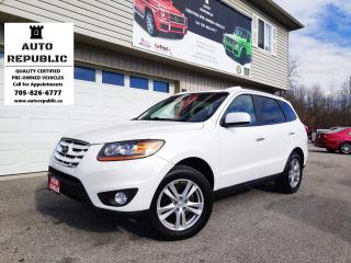 Used 2011 Hyundai Santa Fe LIMITED for sale in Orillia, ON