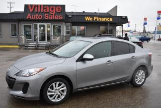 Used 2012 Mazda MAZDA3 GS-SKY HEATED SEATS! CRUISE CONTROL! BLUETOOTH! for sale in Saskatoon, SK