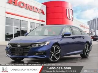 New 2020 Honda Accord Sport 1.5T HONDA LANEWATCH™ CAMERA | APPLE CARPLAY™ & ANDROID AUTO™ | HONDA SENSING TECHNOLOGIES for sale in Cambridge, ON