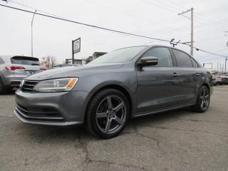 Used 2015 Volkswagen Jetta MAGS 17 CAMERA A/C SIEGES CHAUFFANTS for sale in St-Eustache, QC