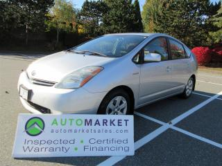 Used 2007 Toyota Prius LOCAL, NO ACCIDENTS, 1 OWNER, INSP, BCAA MBSHP, WARR, FINANCE! for sale in Surrey, BC