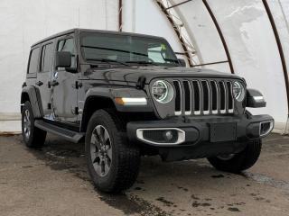 Used 2020 Jeep Wrangler Unlimited Sahara FACTORY REMOTE STARTER, LED LIGHT GROUP, COLD WEATHER GROUP for sale in Ottawa, ON