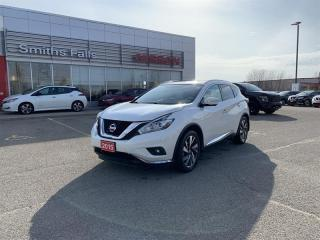 Used 2015 Nissan Murano Platinum AWD CVT for sale in Smiths Falls, ON