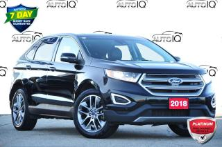 Used 2018 Ford Edge Titanium TITANIUM | AWD | 3.5L V6 | PANORAMIC ROOF for sale in Kitchener, ON