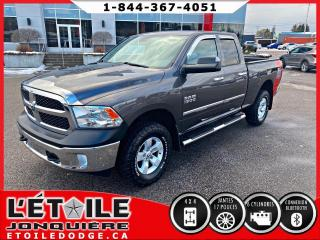 Used 2014 RAM 1500 Cabine quad 4RM, 140,5 po ST for sale in Jonquière, QC