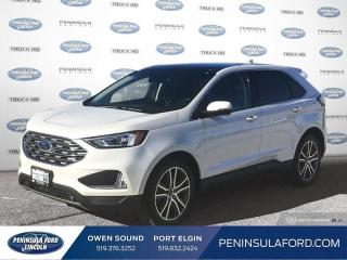 Used 2019 Ford Edge Titanium - Heated Seats -  Power Tailgate - $241 B/W for sale in Port Elgin, ON