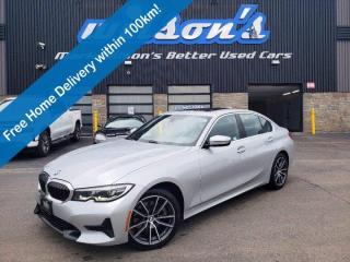 Used 2020 BMW 3 Series 330i xDrive AWD, Leather, Sunroof, Navigation, Power + Heated Seat, Rear Camera, Park Assist & More! for sale in Guelph, ON