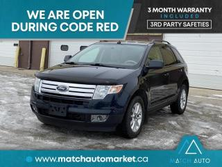Used 2010 Ford Edge SEL for sale in Winnipeg, MB