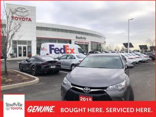 Used 2015 Toyota Camry XSE PREMIUM PACKAGE - POWER MOONROOF - BLIND SPOT MONITOR for sale in Stouffville, ON