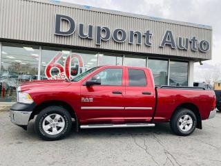 Used 2014 RAM 1500 Cabine quad 4RM, 140,5 po ST for sale in Alma, QC